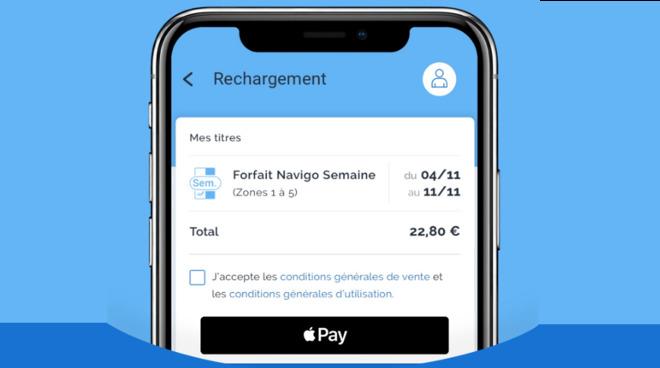 Recharge your Paris Navigo card using iPhone NFC and Apple Pay