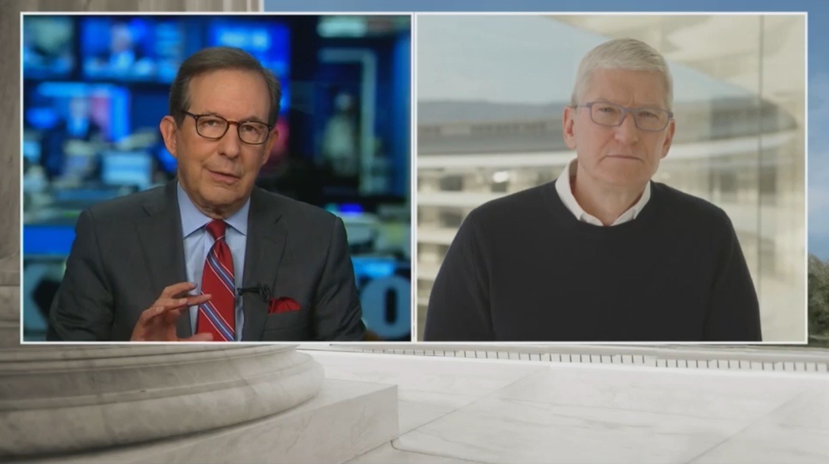 Apple CEO Tim Cook to talk Parler removal, free speech on Fox News