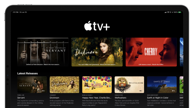 Apple TV+ free trials extended again