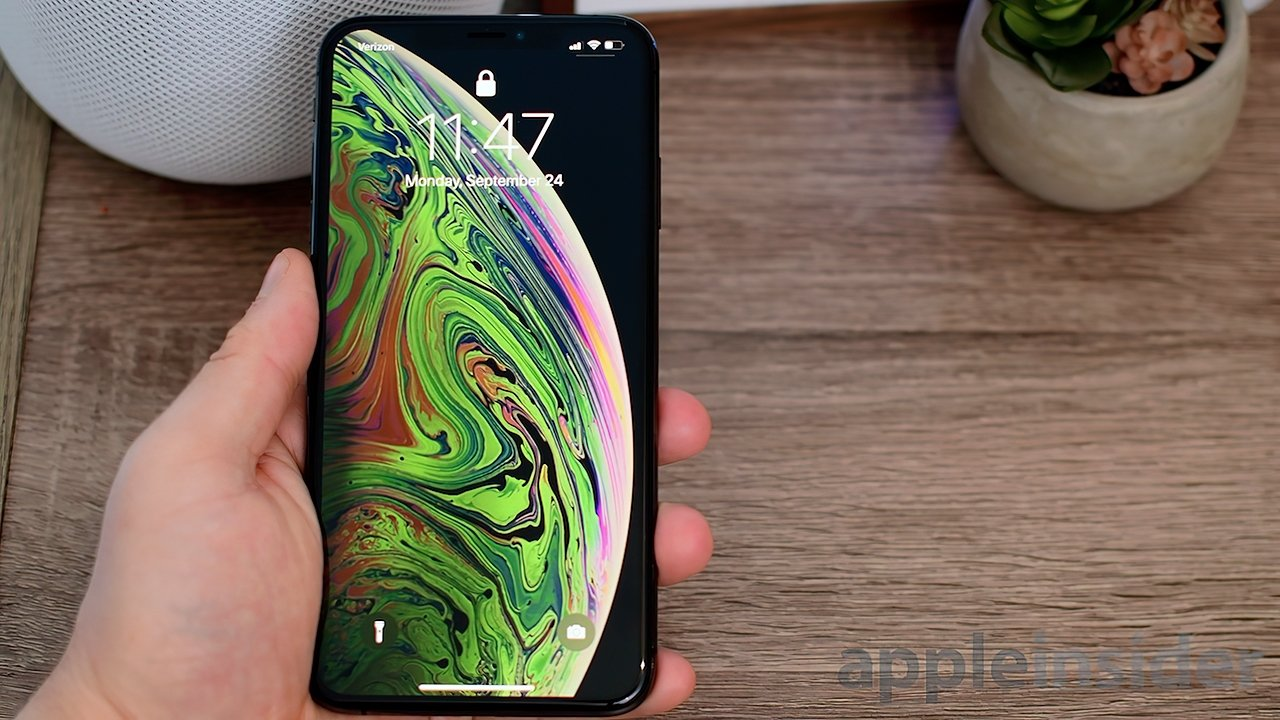 The iPhone XS Max has a 6.5-inch display