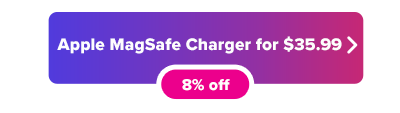 Apple MagSafe Charger sale button