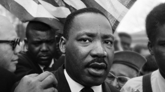 Apple devotes its homepage to honoring Dr. Martin Luther King Jr