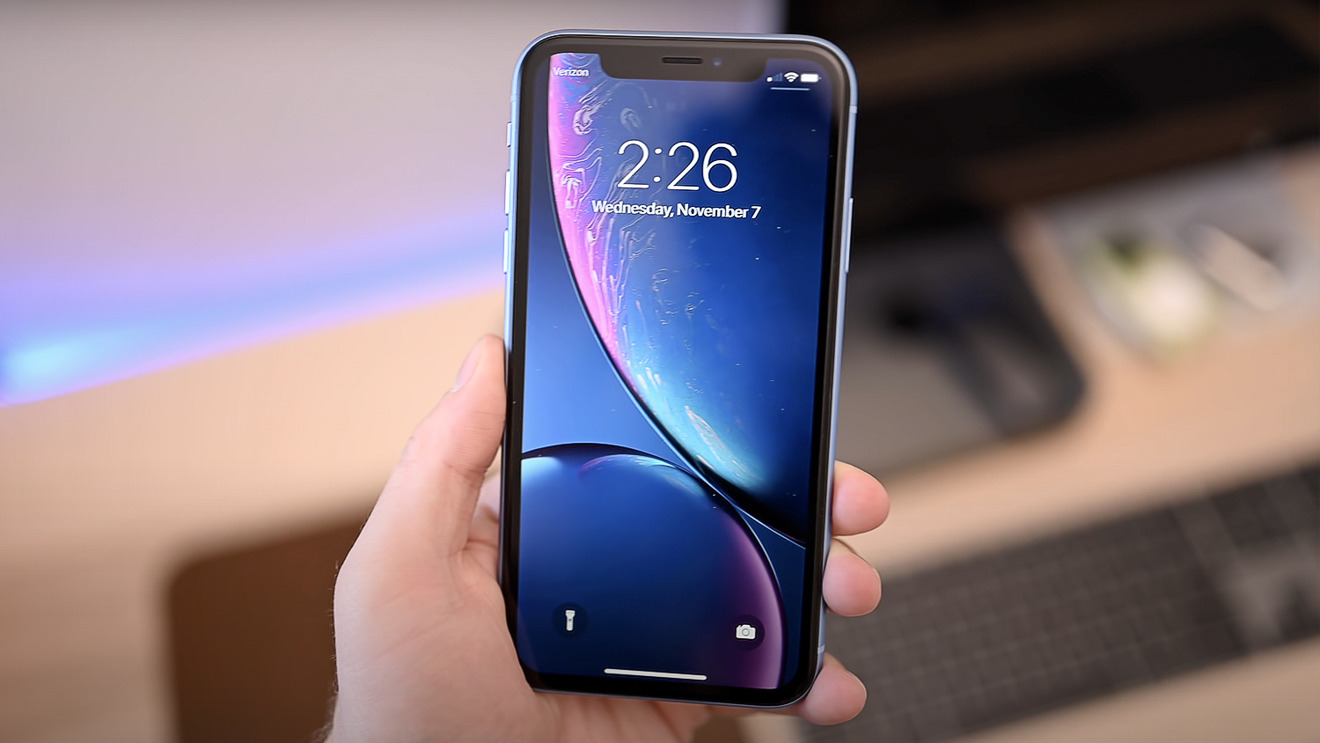 The iPhone XR has a 6.1-inch Liquid Retina HD display