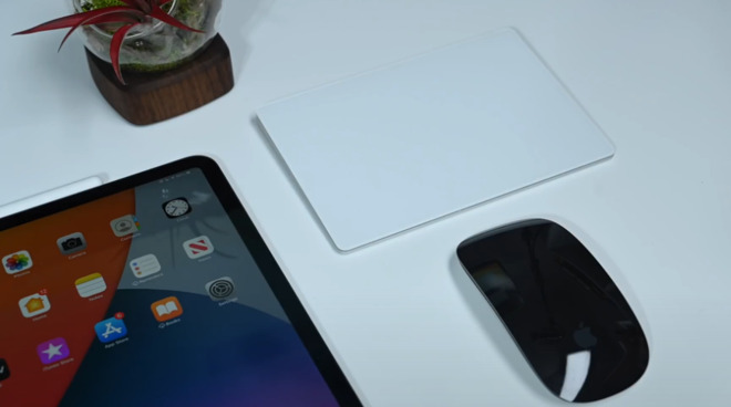 Magic Trackpad and Mouse