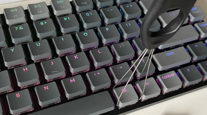 The Keychron K3 can feature hot-swappable keys
