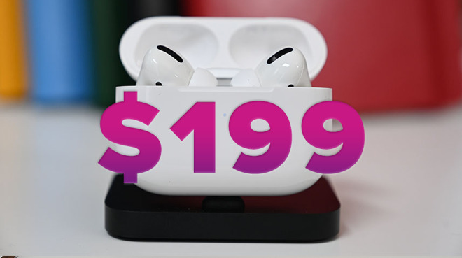 photo of Apple AirPods Pro return to $199 this weekend at Amazon image