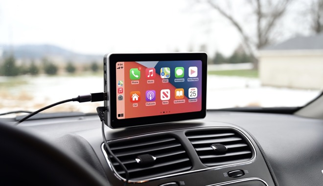 CarPlay on the Intellidash+