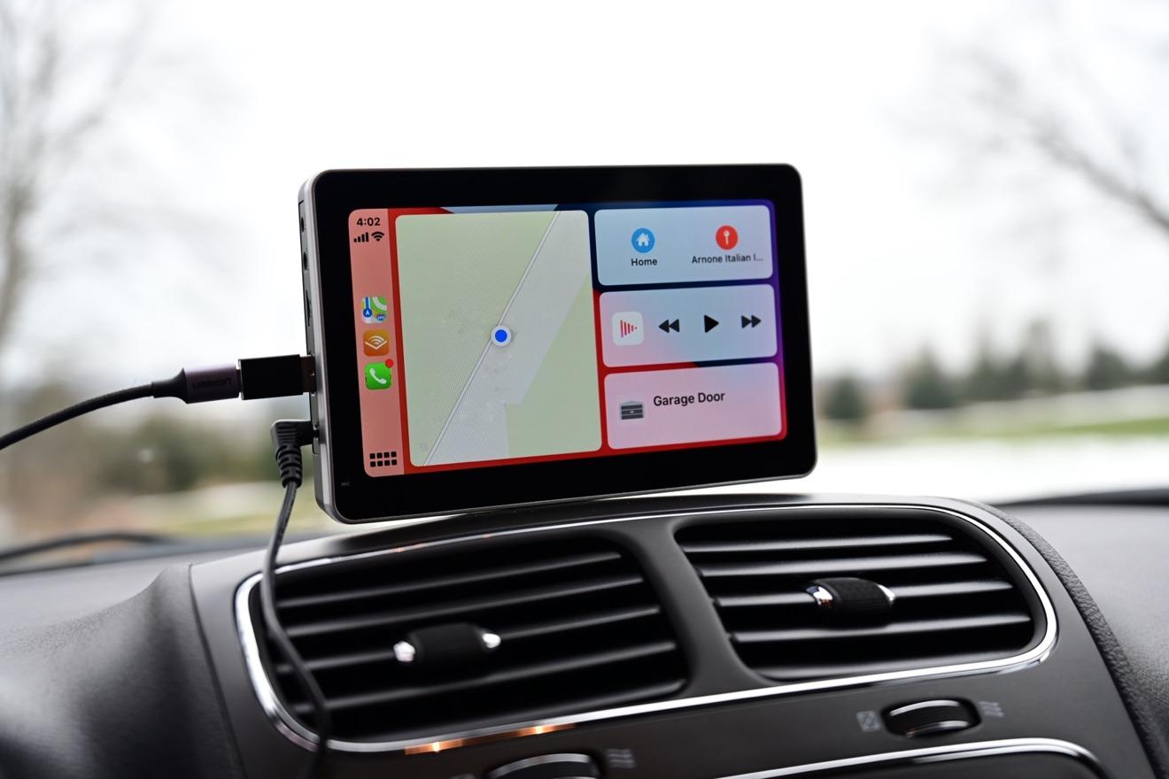 CarPlay dashboard on Intellidash+