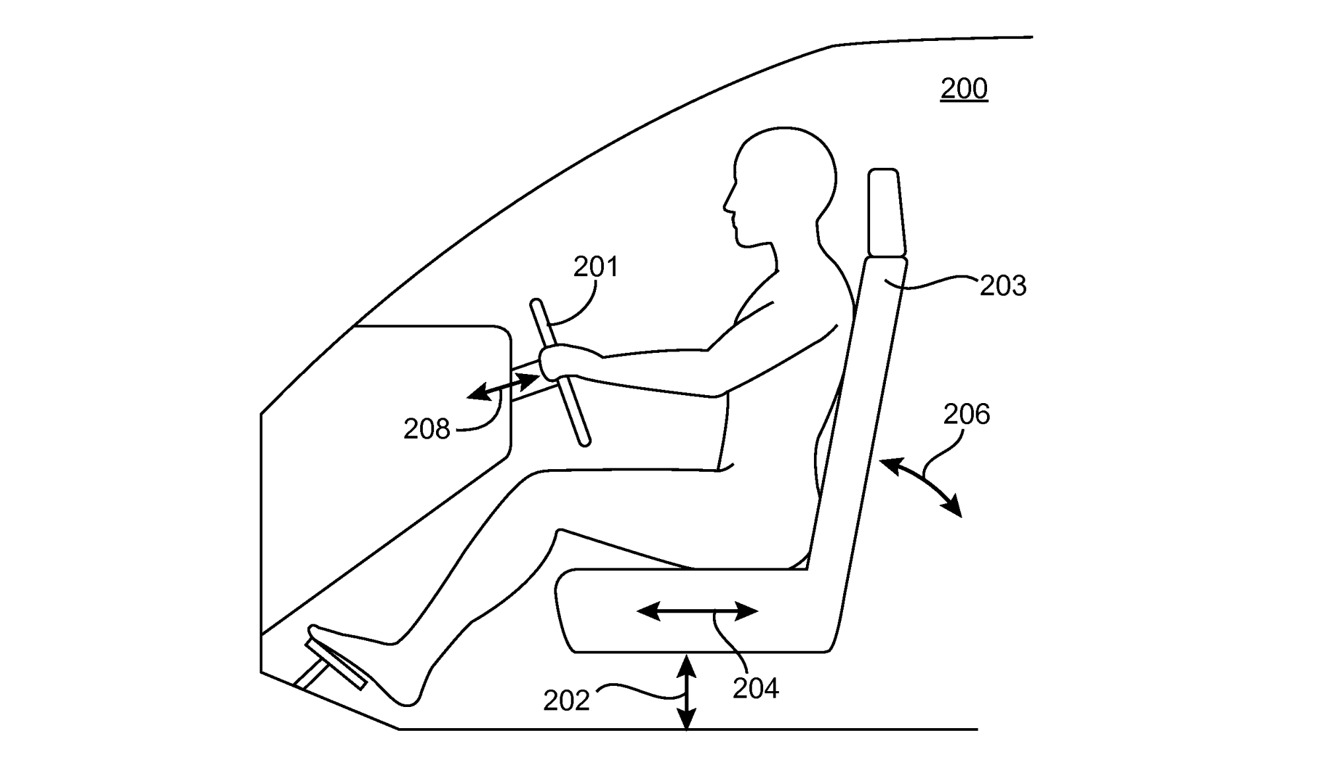 The configuration could include the seat height, distance from pedals, lean, and other components.
