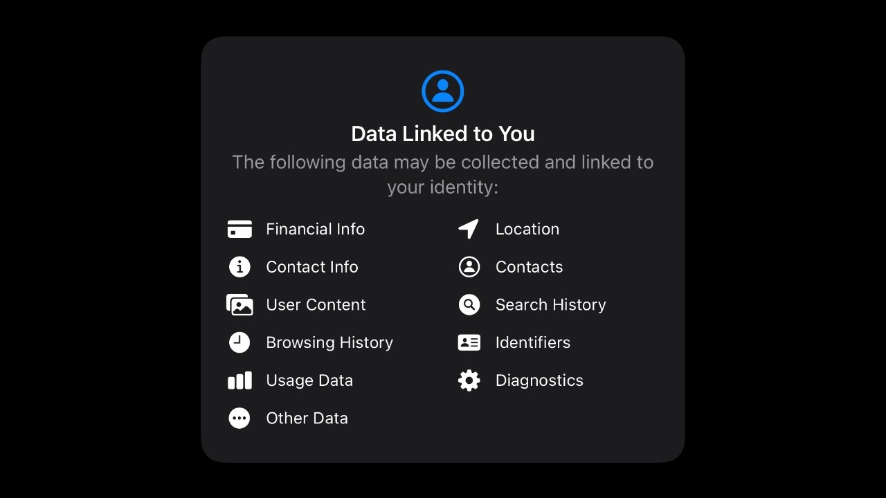 App Privacy Labels will inform users of what data is collected and how it is used