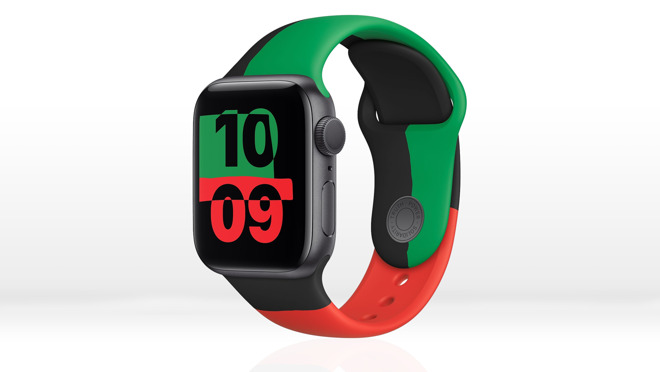 The Black Unity Apple Watch