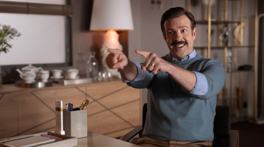 photo of Jason Sudeikis wins first Golden Globe for Apple TV+ with 'Ted Lasso' image
