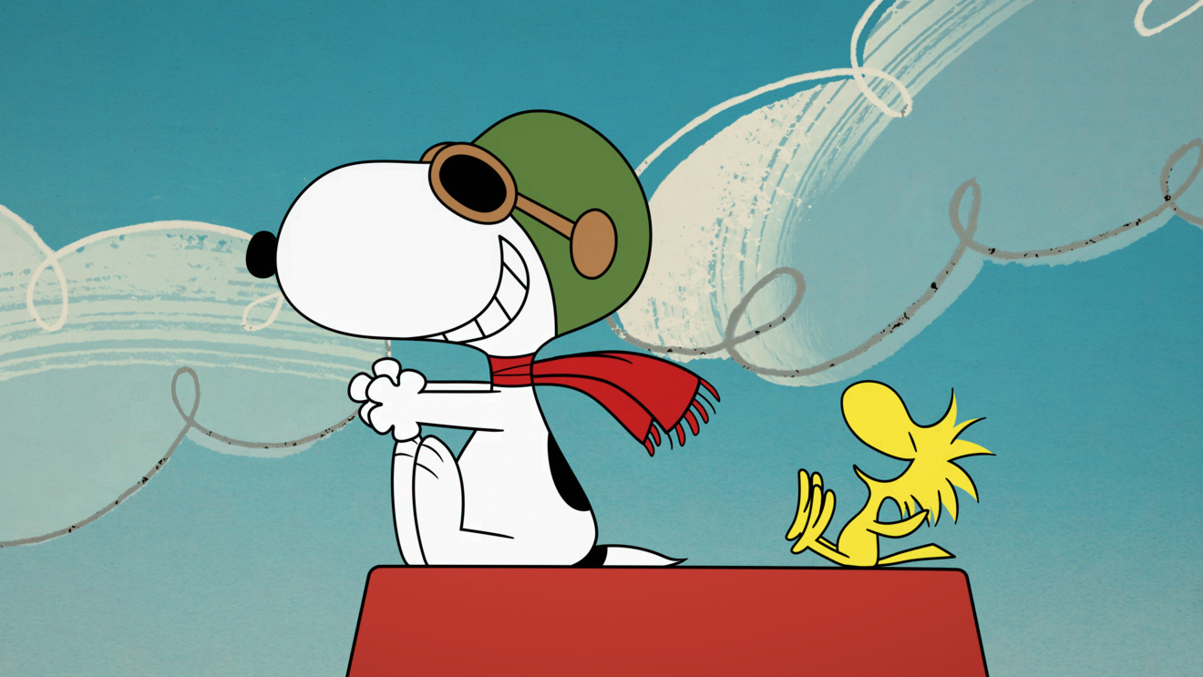 Episode 1. Snoopy and Woodstock in
