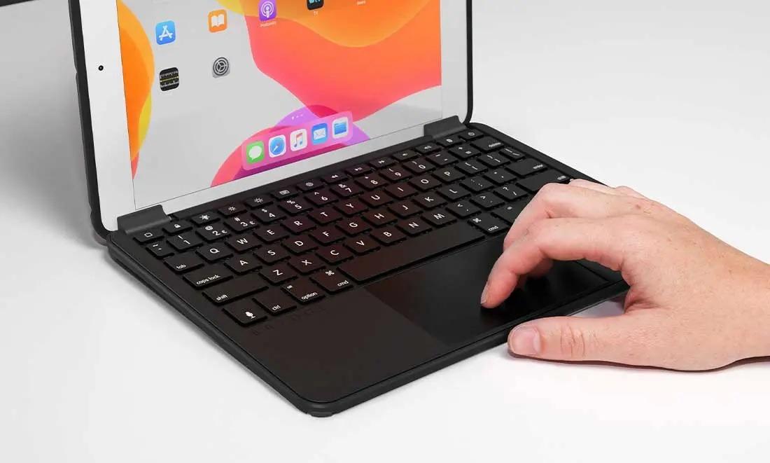 Brydge 10.2 Max+ trackpad