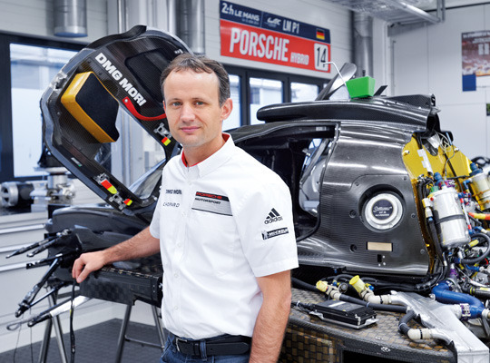 Former Porsche LMP1 project technical director and race director Alexander Hitzinger