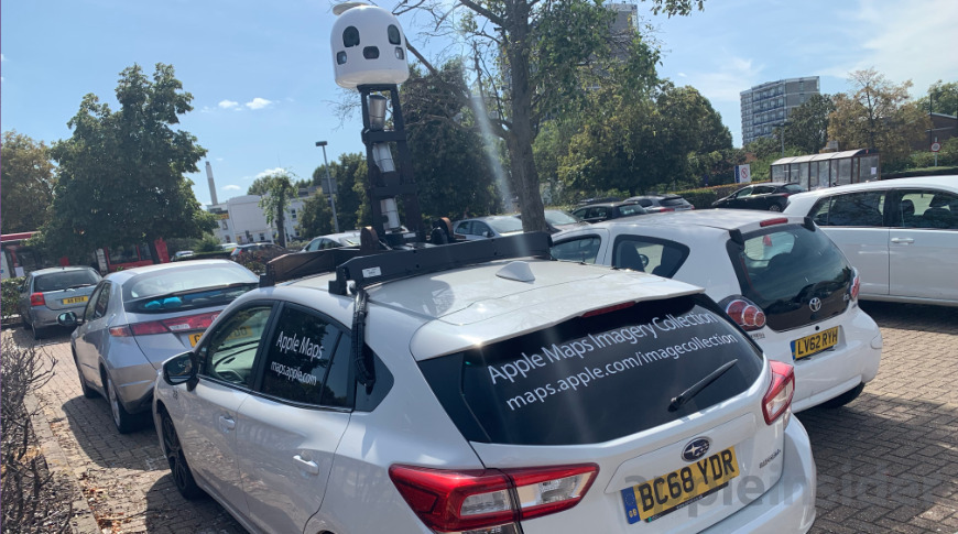 Imaging and LiDAR data from Apple Maps cars may be used to teach Apple's self-driving systems.