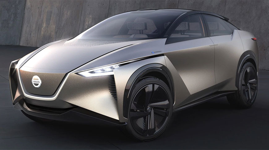 The Nissan IMx, a concept car produced by Renault's alliance partner.