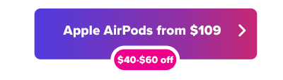 AirPods sale button from $109