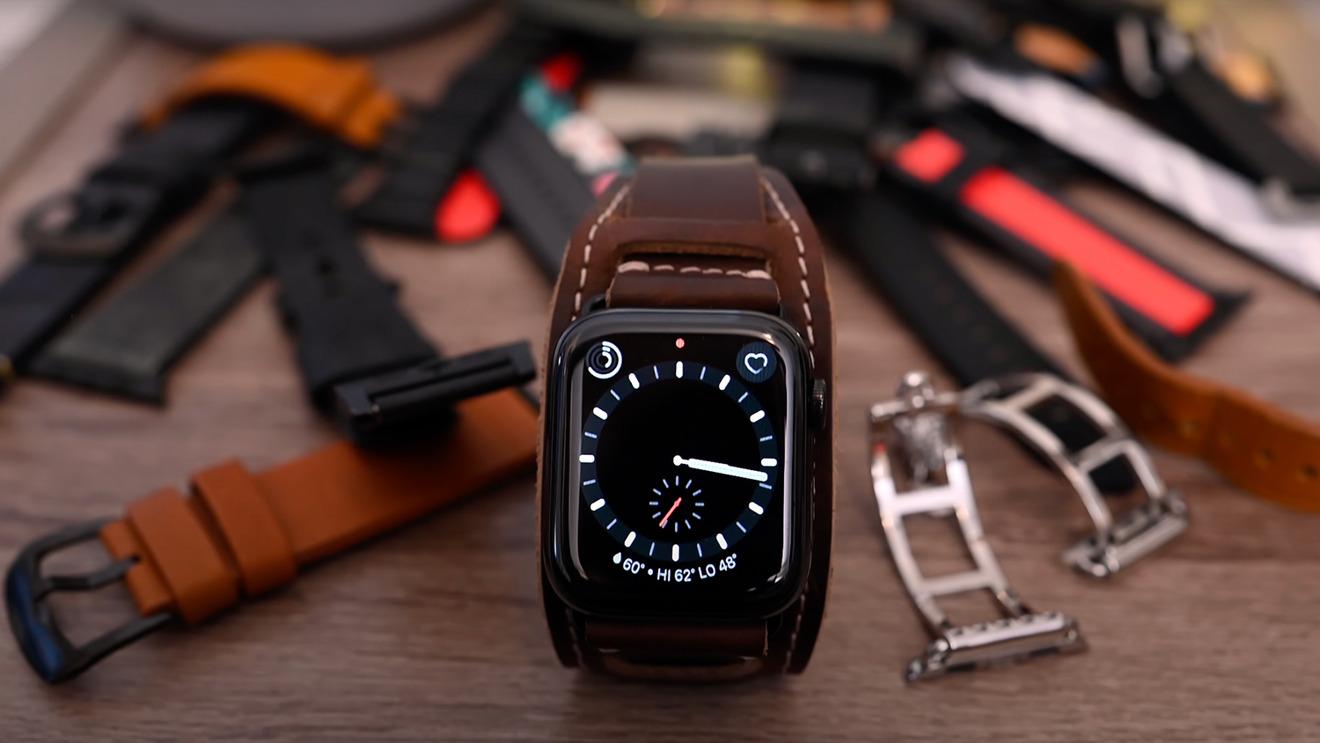 New band styles launch alongside each new generation of Apple Watch