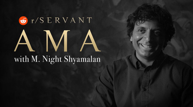 M. Night Shyamalan Reddit AMA