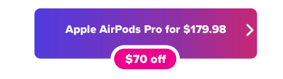 AirPods Pro for $179.98 at Amazon button
