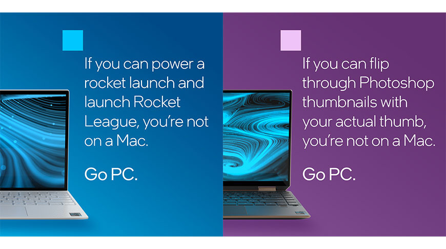 Intel targets M1 weaknesses in 'You're not on a Mac' ad campaign