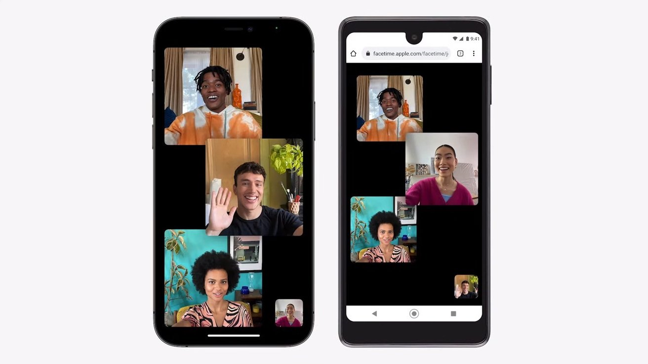 FaceTime with Android users thanks to a web link
