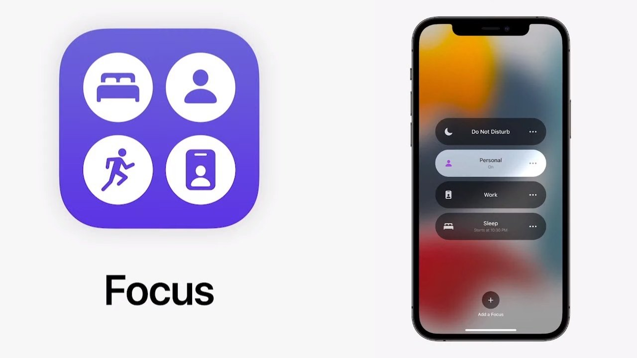 Focus replaces Do Not Disturb with a wide range of controls