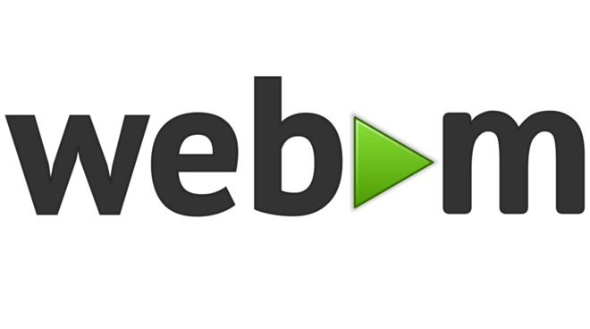 WebM is a video format from Google that provides good video quality with a small file size