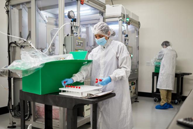 Staff at COPAN's new medical facility