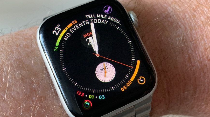 The Apple Watch uses an OLED display.