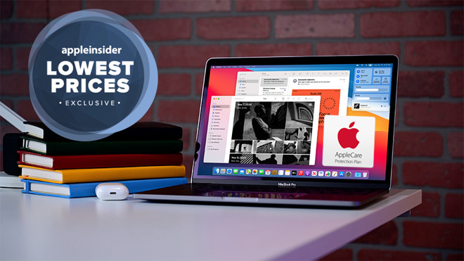 M1 MacBook Pro 13 inch deal with Apple Care
