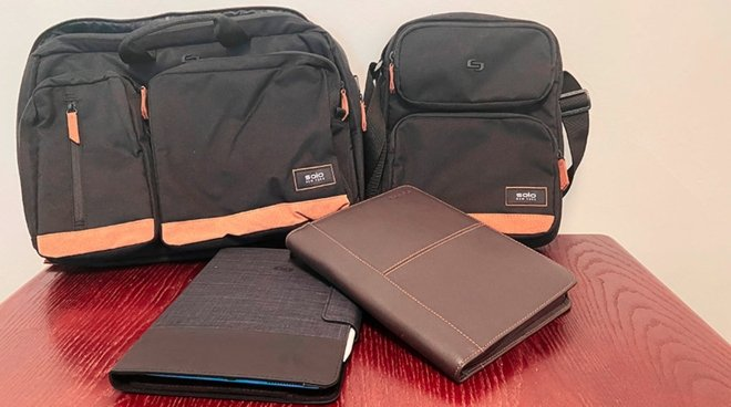 photo of Hands On: Solo New York iPad cases and electronics bags are trendy carry-alls that won't break your budget image