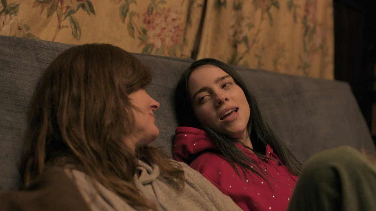 Billie Eilish and her mother, Maggie Baird, in