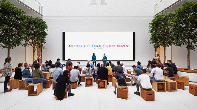 photo of Apple Stores now offer free sign language interpreters, Virginia location to close image
