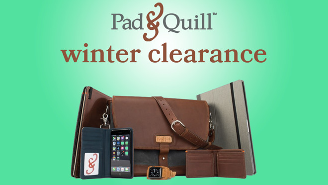 Pad & Quill has big savings on Apple accessories