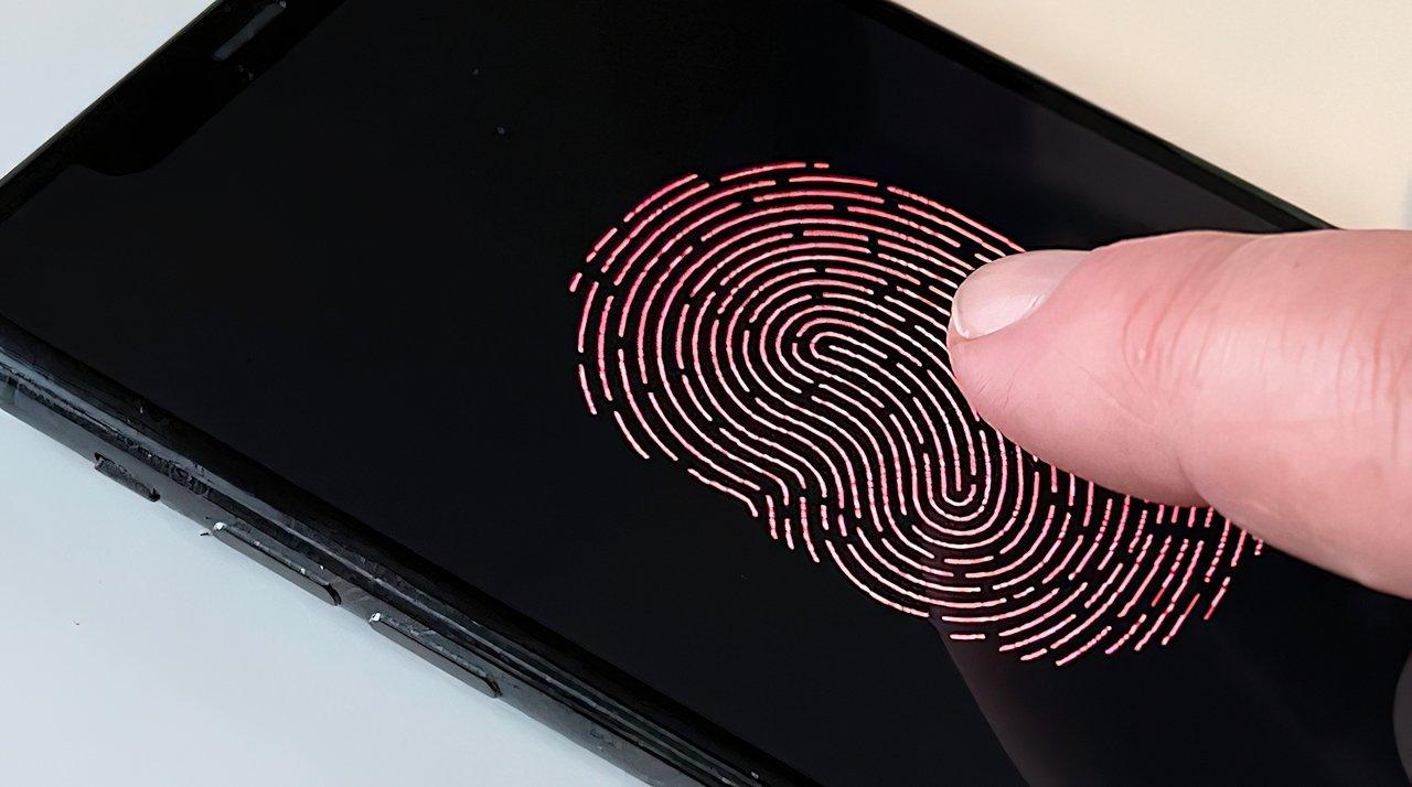 An in-screen fingerprint sensor has been rumored for the 2023 iPhone