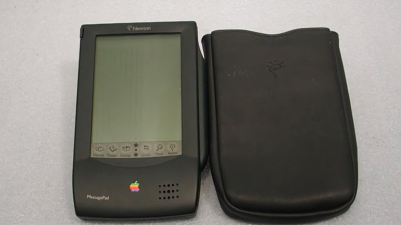 The Newton was released in 1993 and spotlights Apple's loss of focus in the 90's