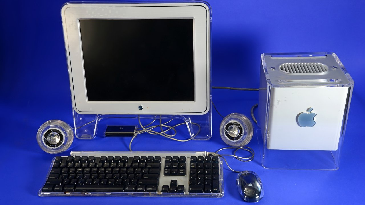 One of Steve Jobs' rare Apple failures the Power Mac G4 Cube