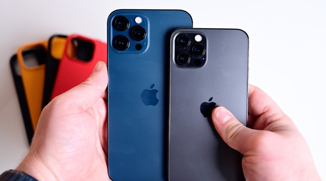 Apple's iPhone 12 Pro Max and iPhone 12 Pro