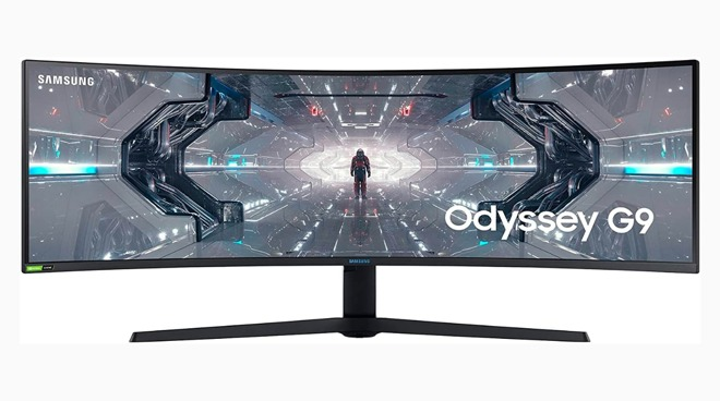 Samsung's Odyssey G9 monitor has a 32:9 aspect ratio