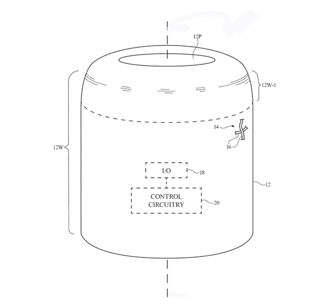 Detail from the patent showing a cylindrical