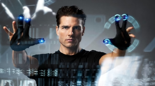 Apple is again researching gloves that, in part, resemble those worn by Tom Cruise in Minority Report
