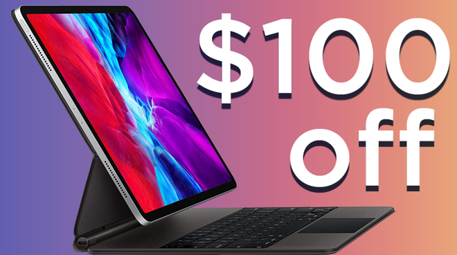 Apple iPad Magic Keyboard deal at Amazon