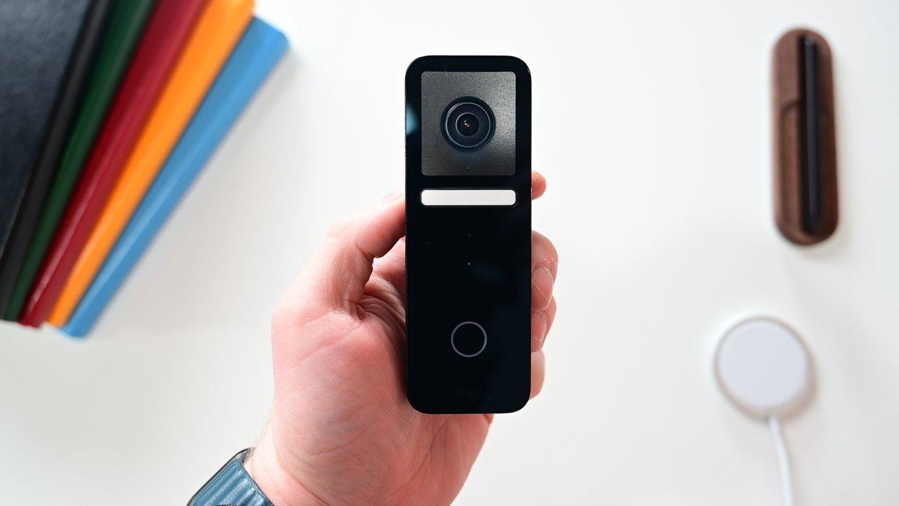 Circle View video doorbell in the studio