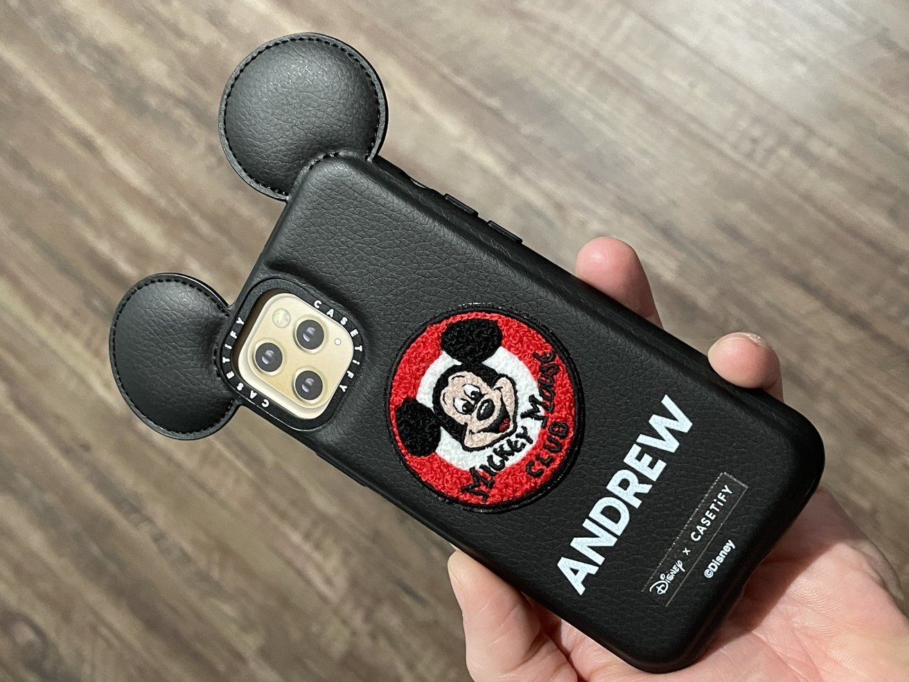 Mickey Mouse Club badge case