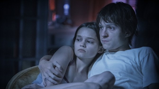 Tom Holland and Ciara Bravo in