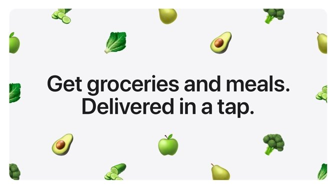 Groceries Apple Pay