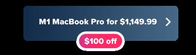 Amazon M1 MacBook Pro deal for $1,149.99