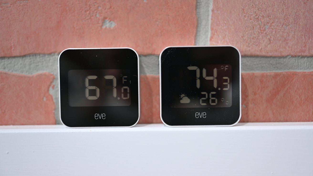 Eve Degree (left) and Eve Weather (right)